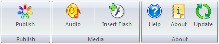FlashSpring 3 Toolbar