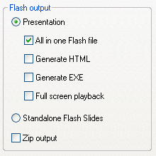 Solid Flash file mode