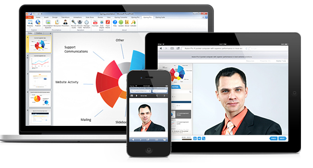 Share PowerPoint on any device with iSpring Free