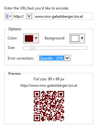 QR code generator for PowerPoint