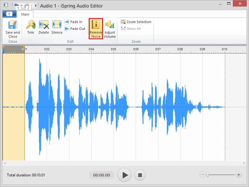 New Enhanced Audio/Video Editor in iSpring Suite 8