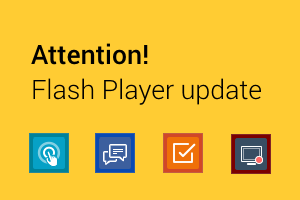 Attention! Flash Player update