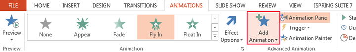Picture 3: Add animation in PowerPoint
