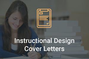instructional design cover letter