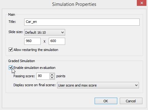 The Simulation Properties window