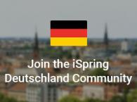 Join the iSpring Deutschland Community