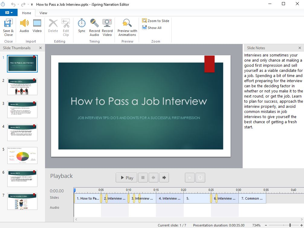 How to Make a Training Video Using PowerPoint - Step-by-Step