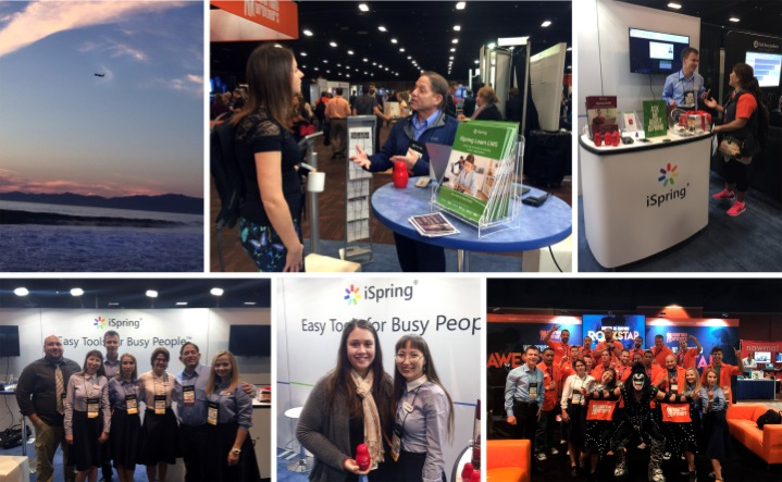 iSpring at DevLearn 2016
