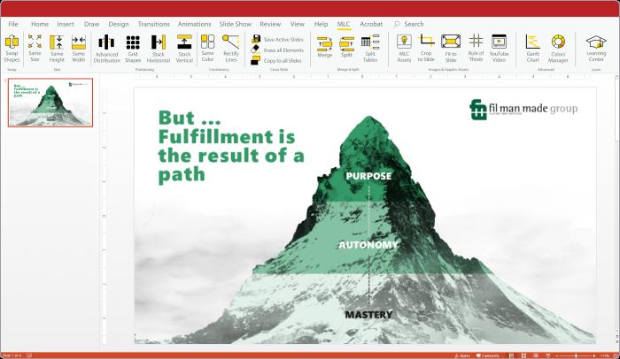 Plugin của Maurizio La Cava cho PowerPoint