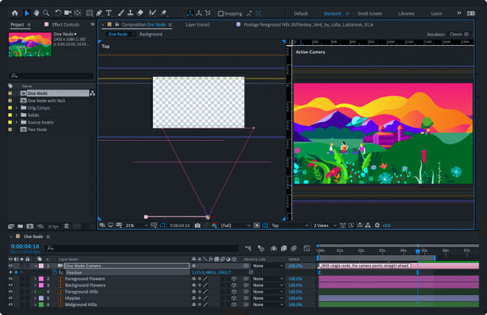 Adobe After Effects video software