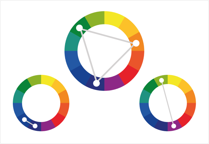 Color wheel design