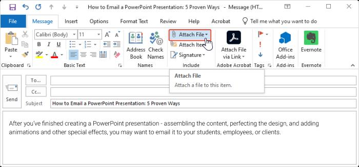 Powerpoint document editor