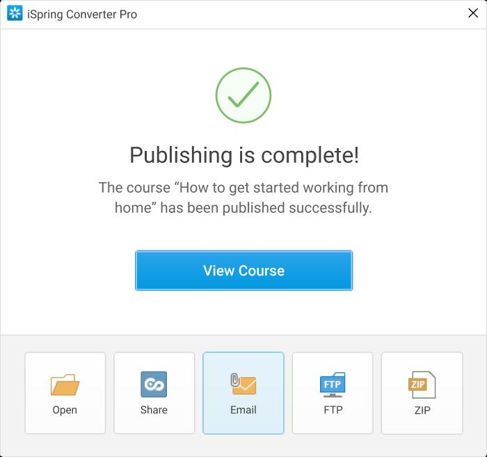 Sending an HTML5 PPT Presentation via Email