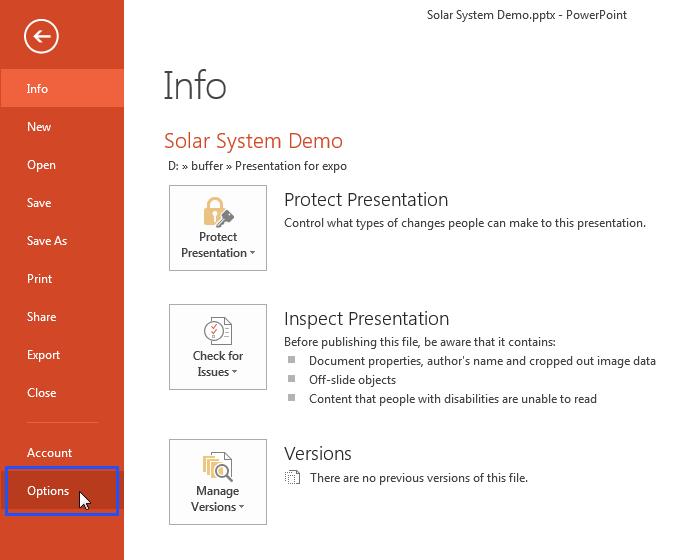 Cách bật công cụ iSpring Suite trong PowerPoint 2013