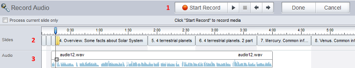 ispring video editor how to add audio narration