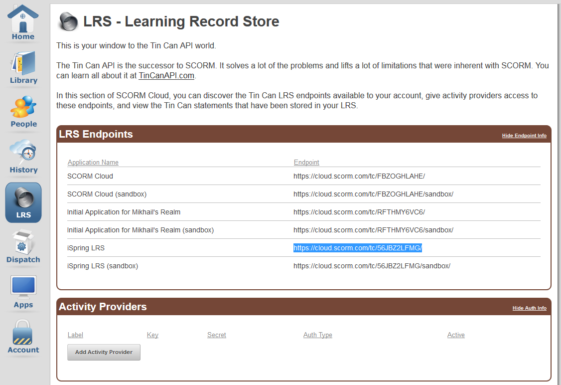 How to Track Tin Can Course Statistics on SCORM com