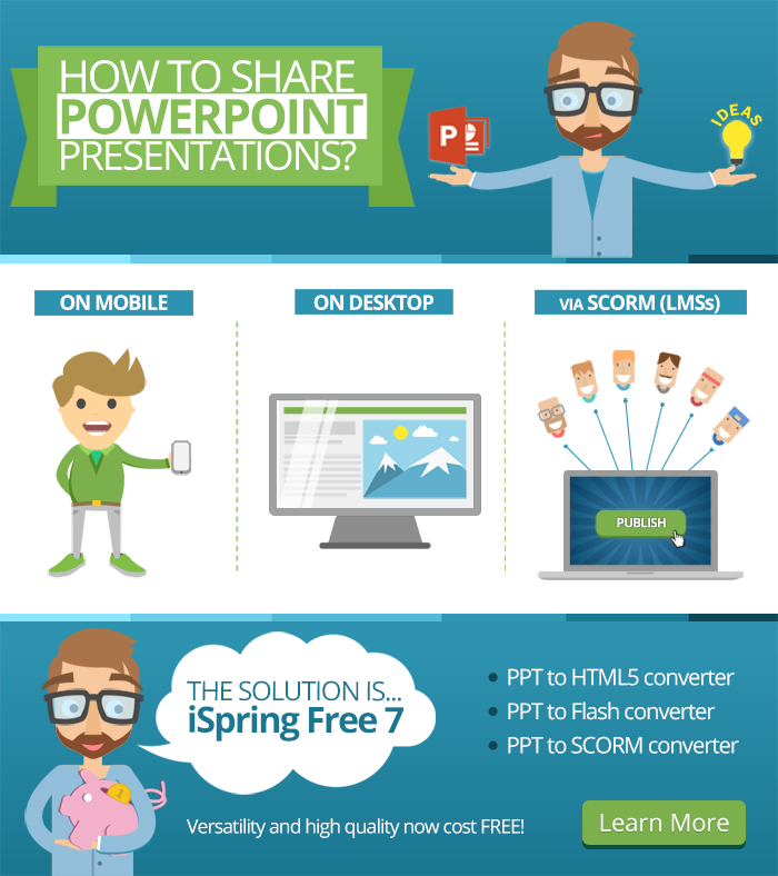 World Class PowerPoint to HTML5 Converter from iSpring Now