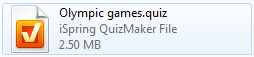 Olympic games quiz file