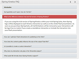 iSpring Visuals FAQ