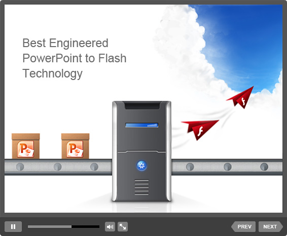Picture 1: Flash presentation technology