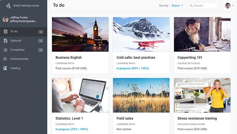 how to create online platform