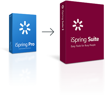 iSpring Pro is now iSpring Suite