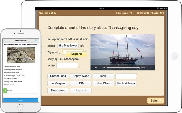 Picture 1: Easy-to-use quiz maker by iSpring