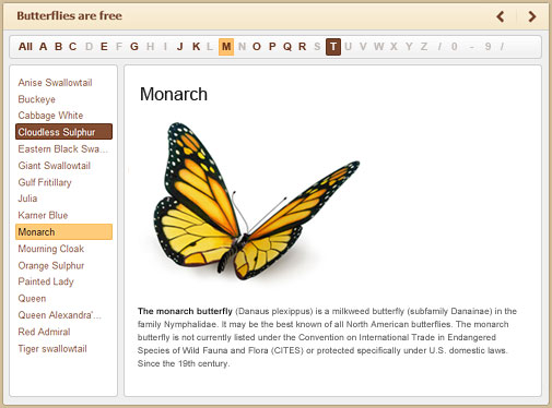 Directory example created with iSpring Suite