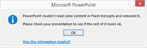 how to fix corrupted flash files
