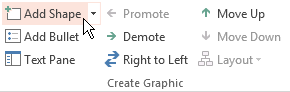 Timeline element in PowerPoint