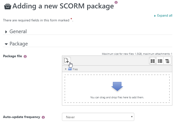 How to Upload a SCORM Course into Totara LMS