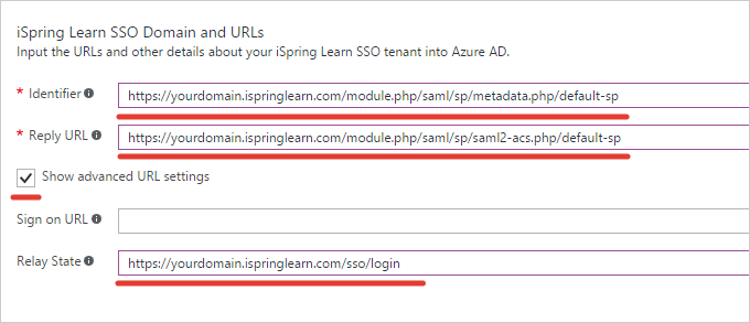 iSpring Learn SSO with Azure AD + SAML