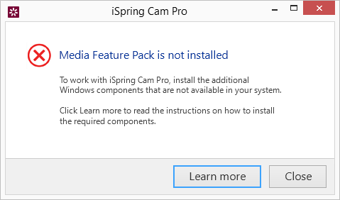 I See an Error Message When I Start Screencasting