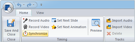Sync single video with all slides in a presentation