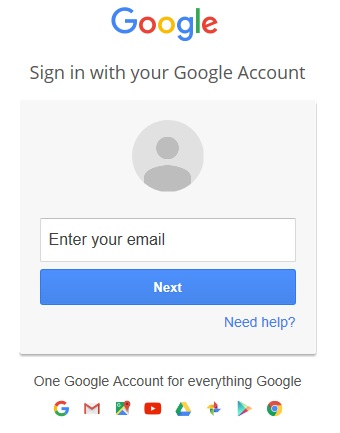 Picture 4: Sign into your Google account